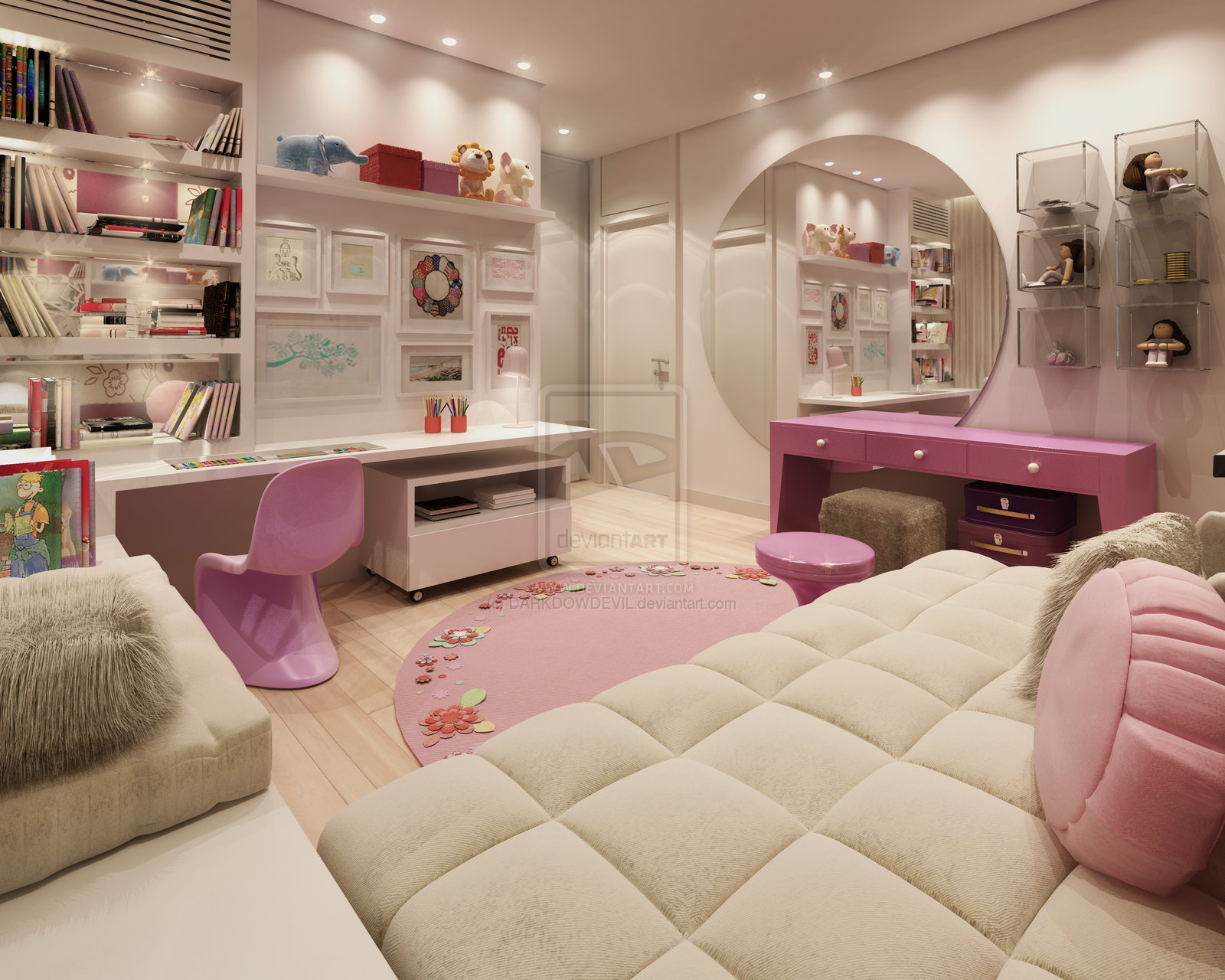 girls-bedroom-ideas-pink