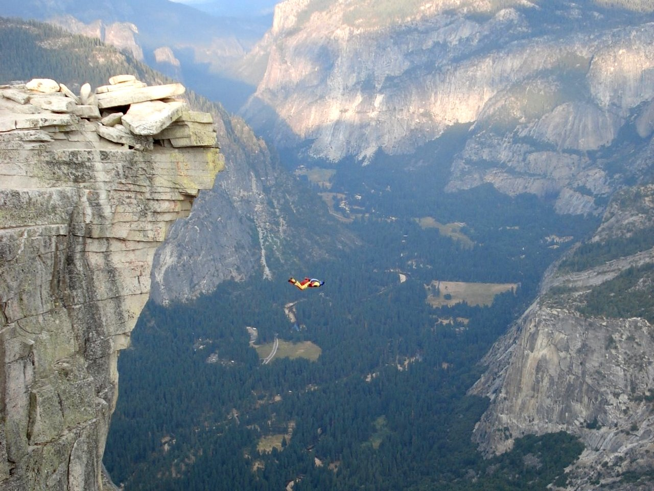 Base Jumping 004 YOLO!