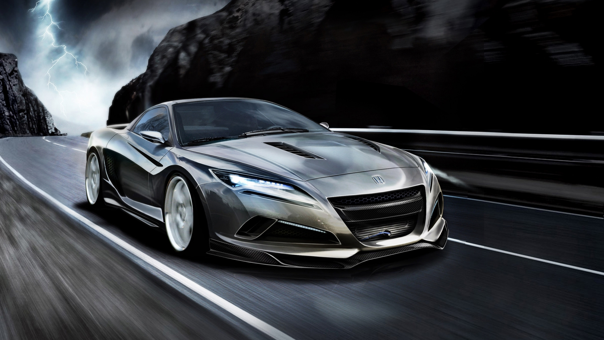 Honda Luxury Designed for Speed