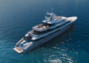 Mega Yacht Red Square Dunya Yachts Image courtesy of Dunya Yachts 300x212 Out fishing