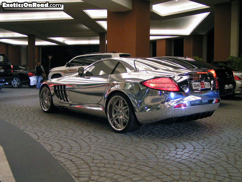 Mercedes Benz whitegold2 Designed for Speed
