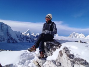 Mitch reflective everest 300x225 Sitting on top of the world