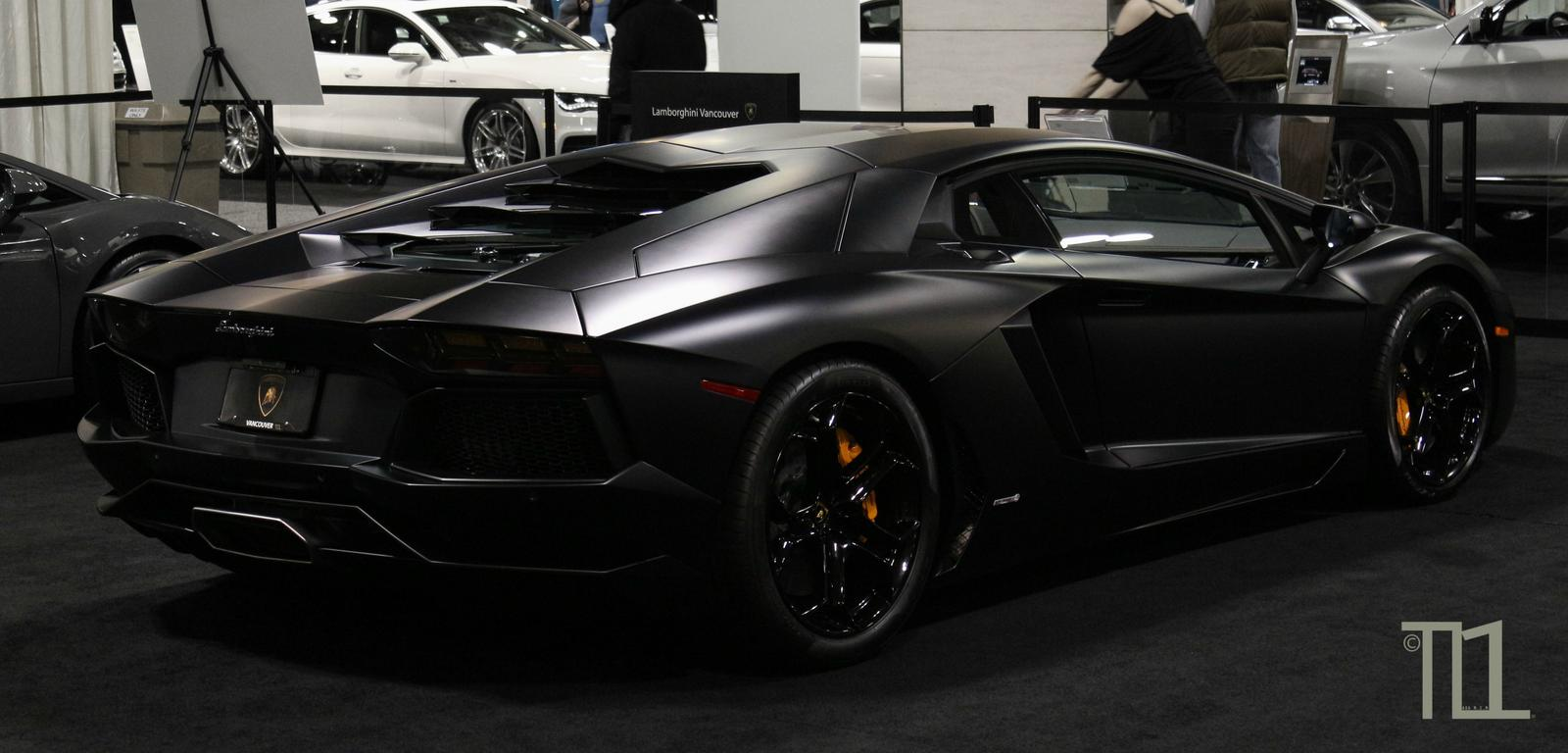 Rear Aventador Lambo Designed for Speed