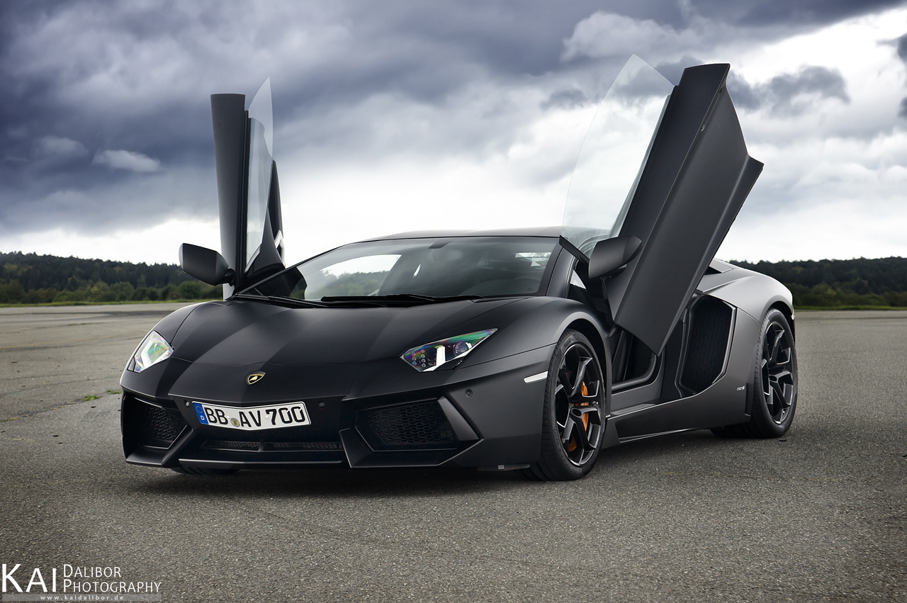 aventador Designed for Speed