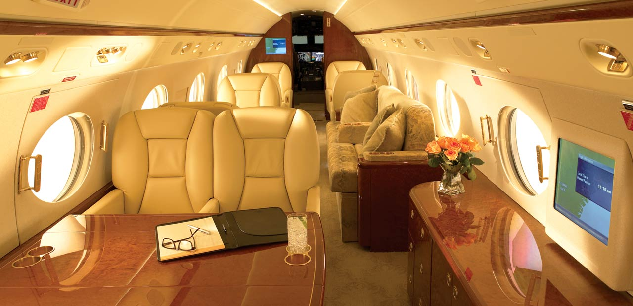 g450 interior First Class? Ill pass