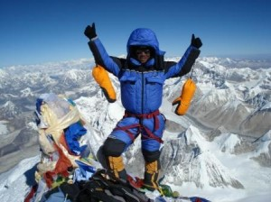 mount everest summit 300x224 Sitting on top of the world