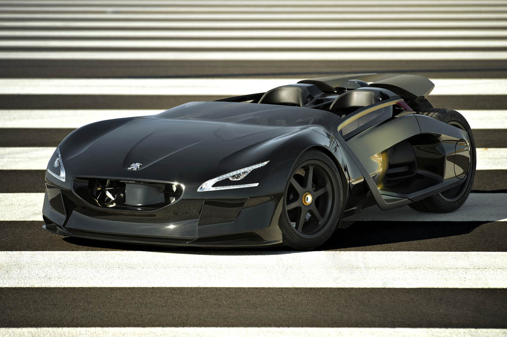 peugeot ex1 1 Designed for Speed