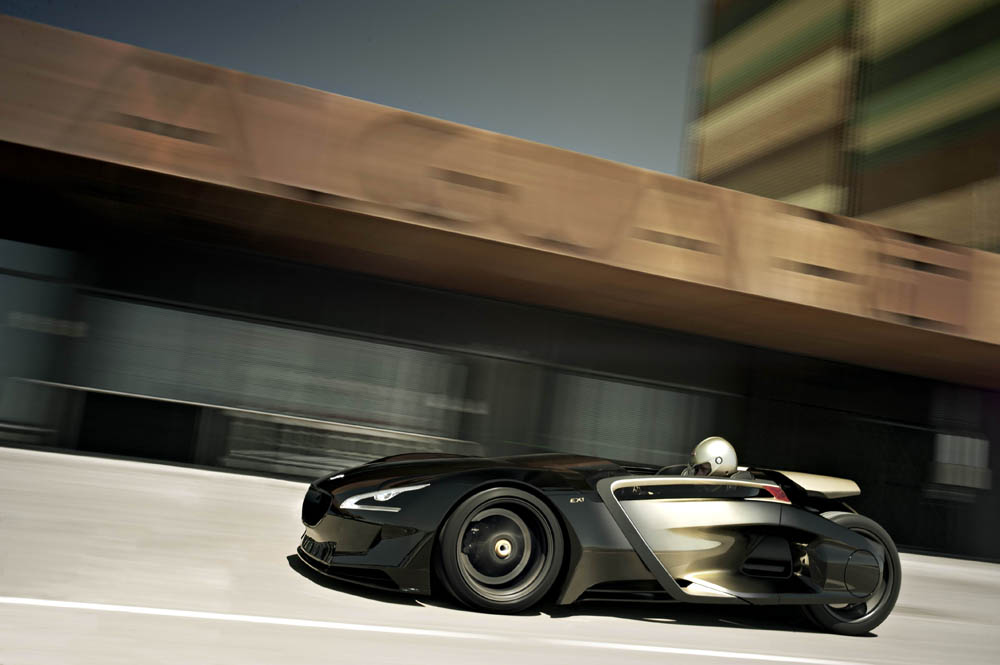 peugeot ex1 3 Designed for Speed