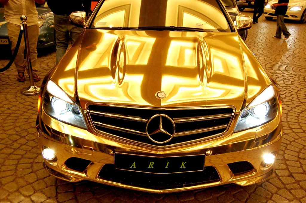 the gold mercedes8 Designed for Speed