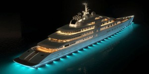 worlds largest super yacht 300x149 Out fishing