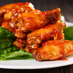 apricot chicken wings Apricot chicken wings recipe