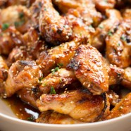 Oriental chicken wings recipe