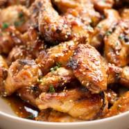 Oriental chicken wings recipe