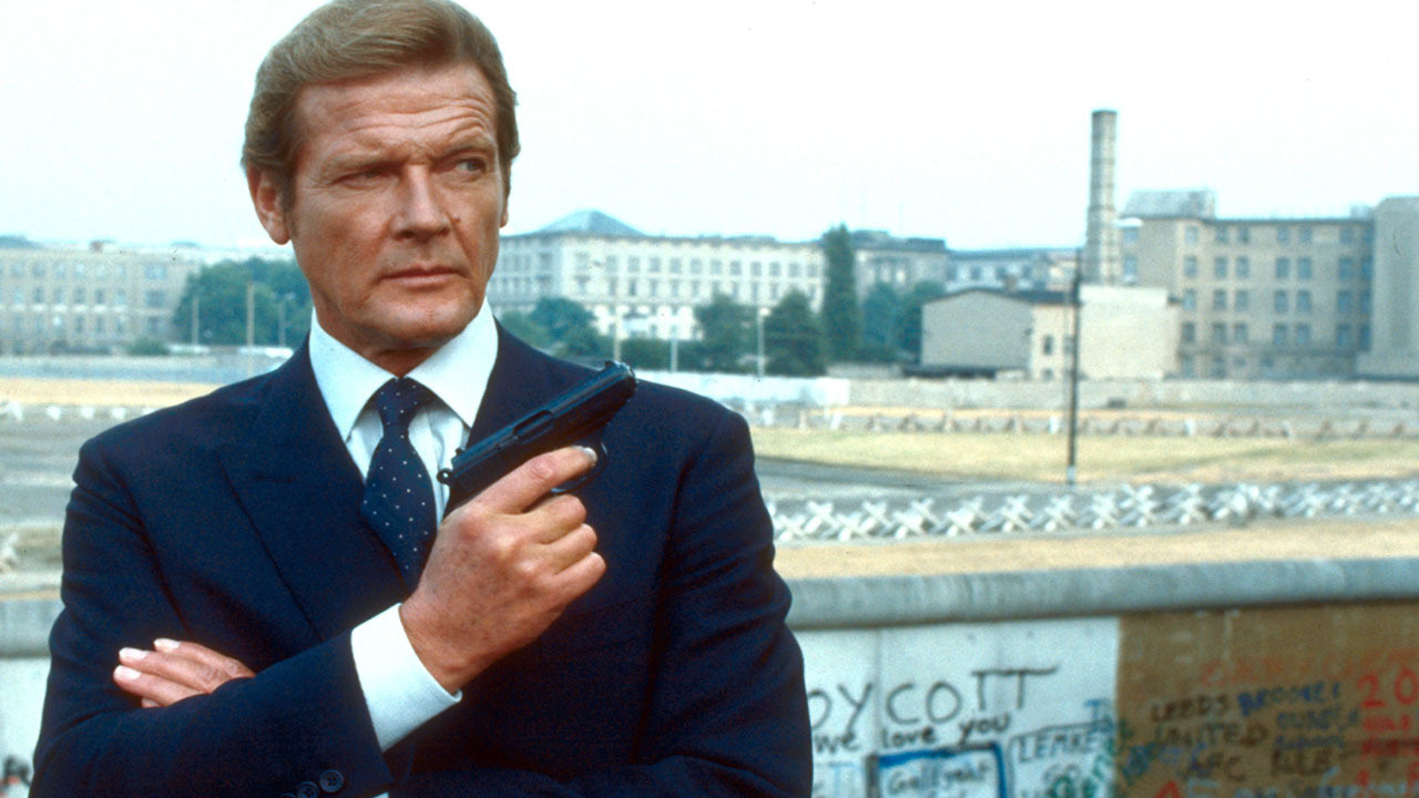 roger moore james bond 50 years of James Bond