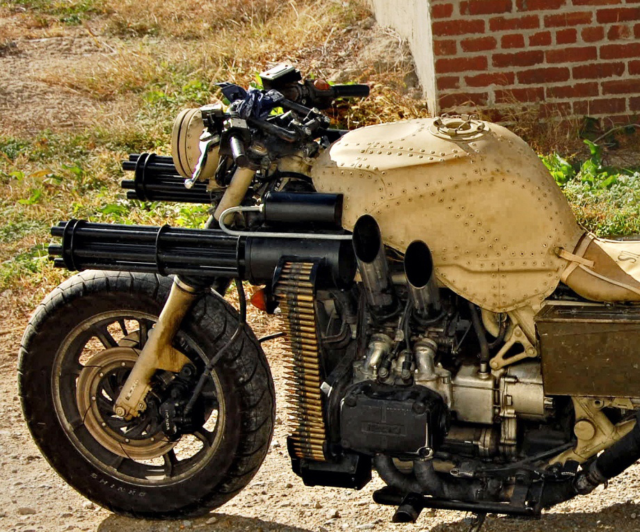 user gatling gun motorcycle 920 8 Good Looking Killers