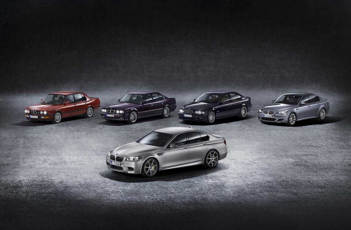 30th anniversary 30 years of the BMW M5