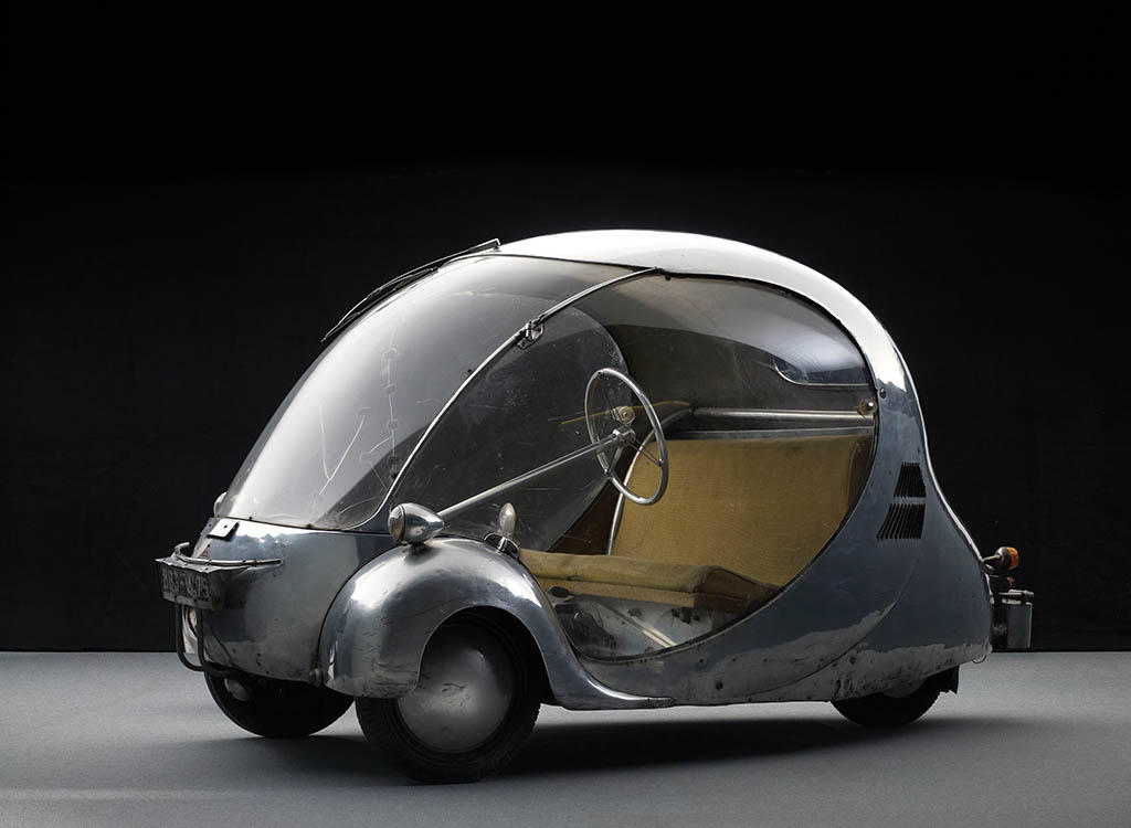 LOeuf Electriuqe Futuristic concept cars from 80 years ago