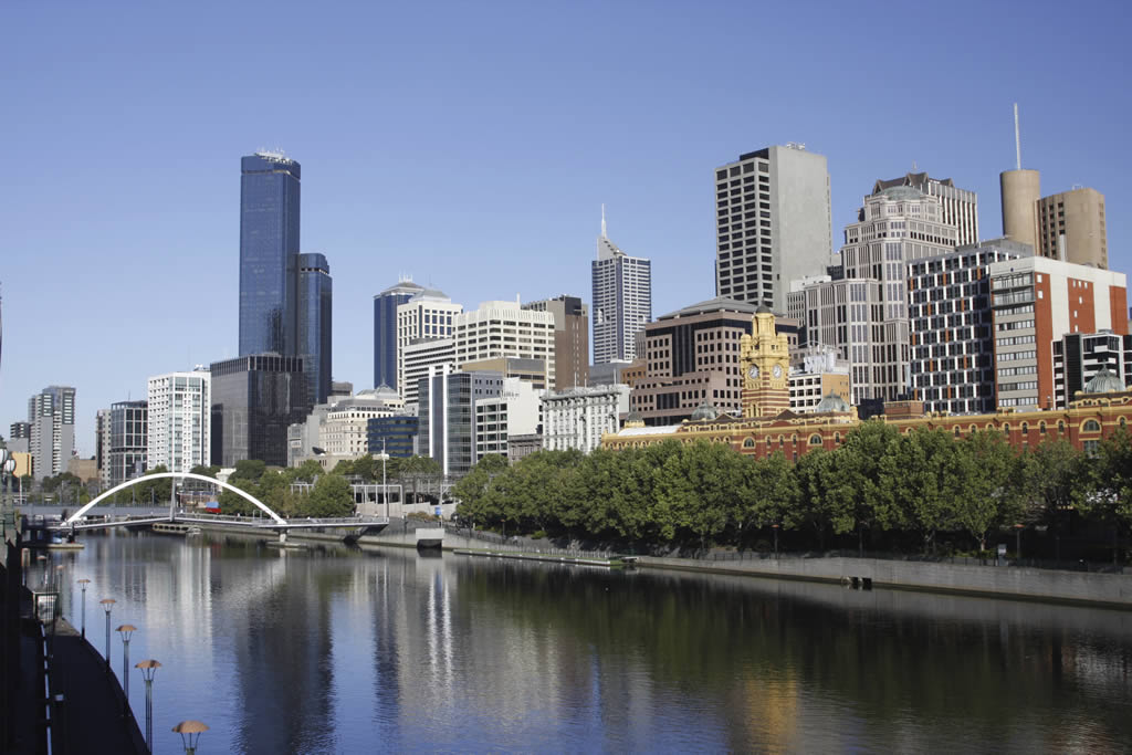 Melbourne-river