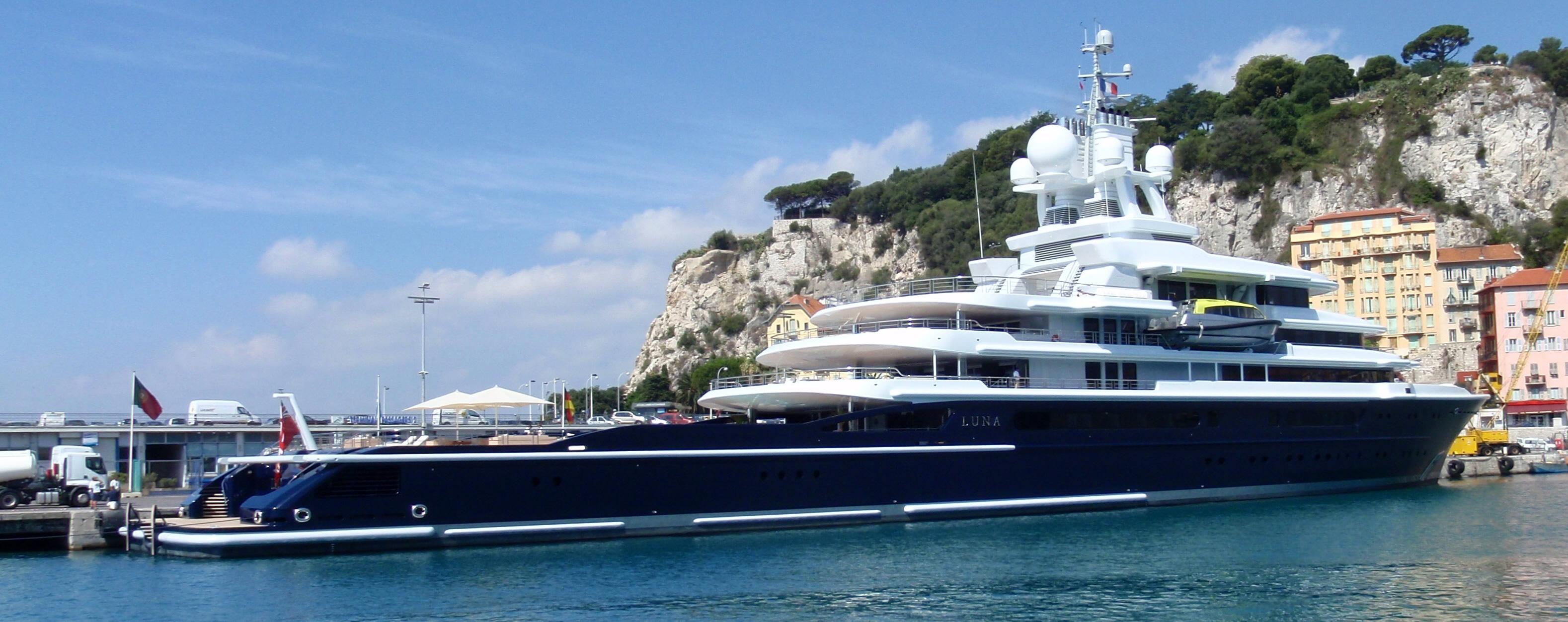 Roman Abramovics Luna yacht Luna