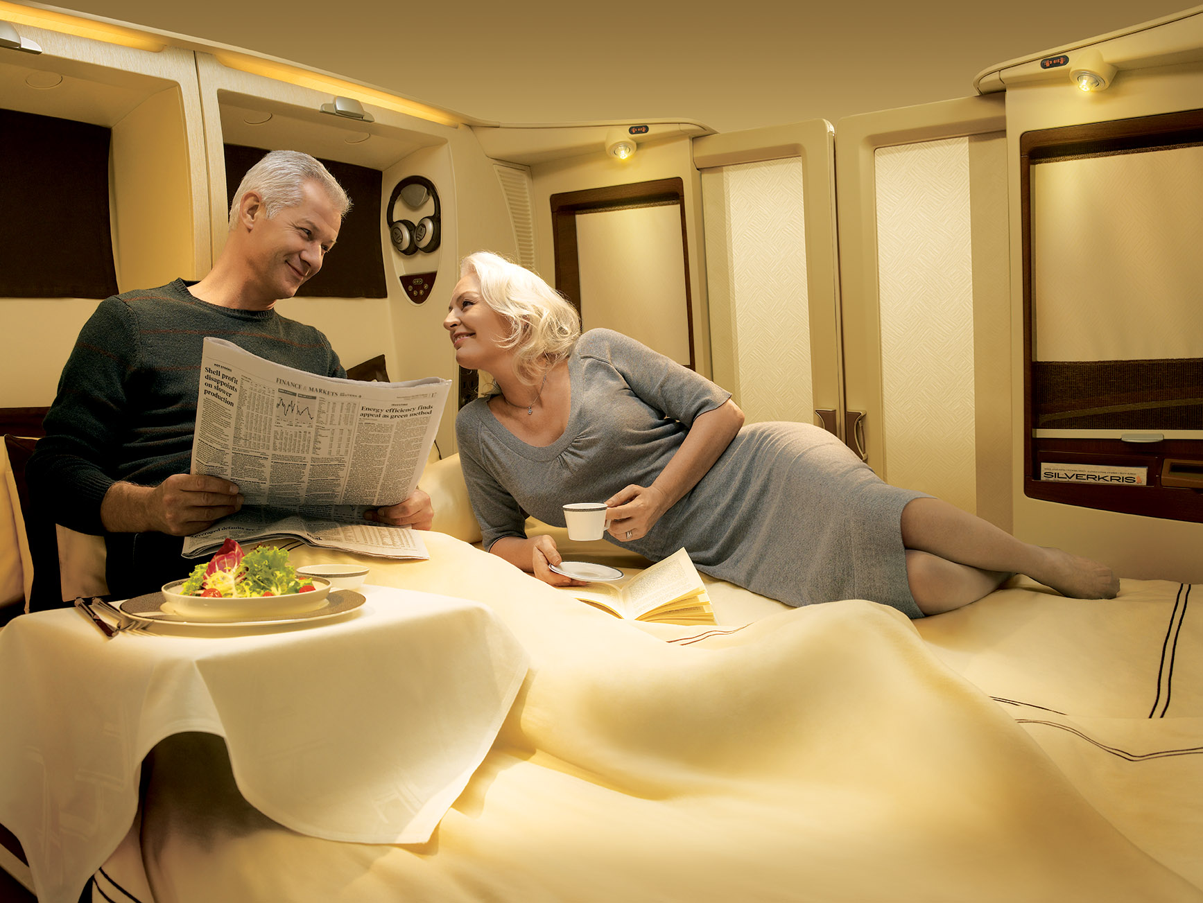 SingaporeAirlines FirstClassSuite2 PhotoCreditSingaporeAirlines Flying First Class