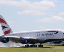 A gift from British Airways