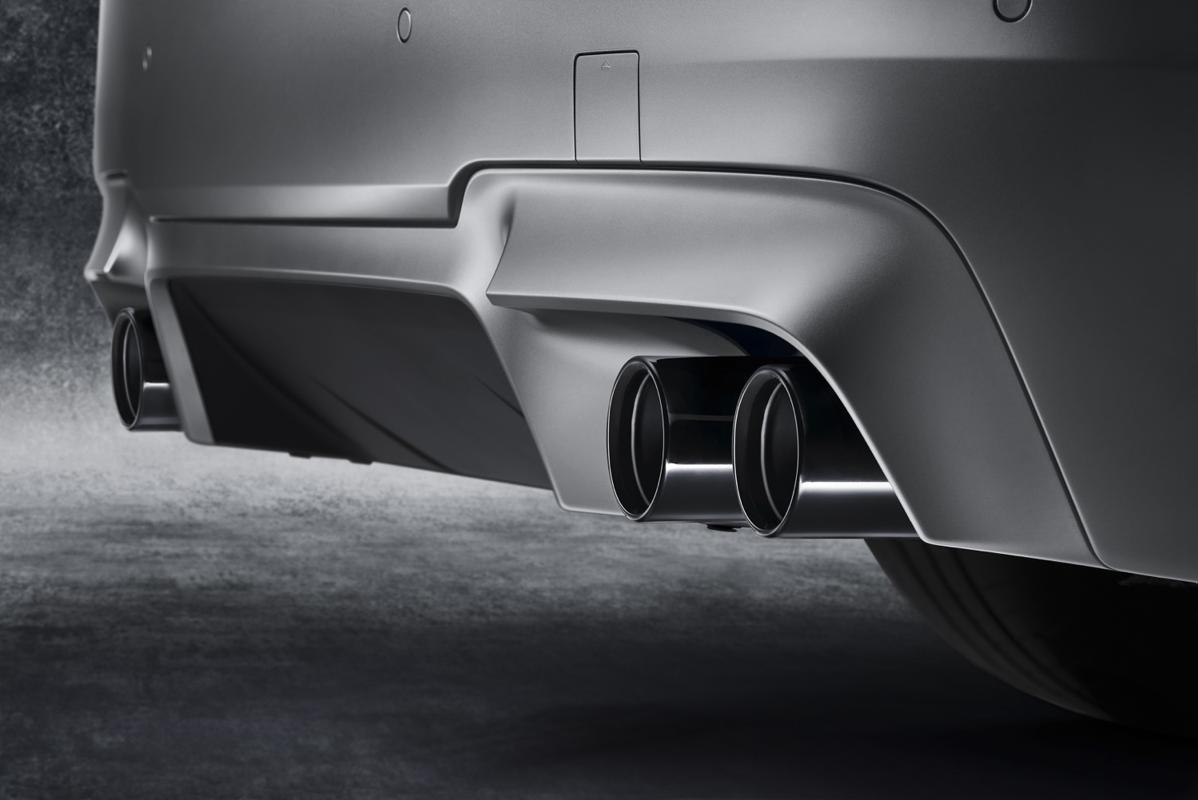 bmw m5 exhaust