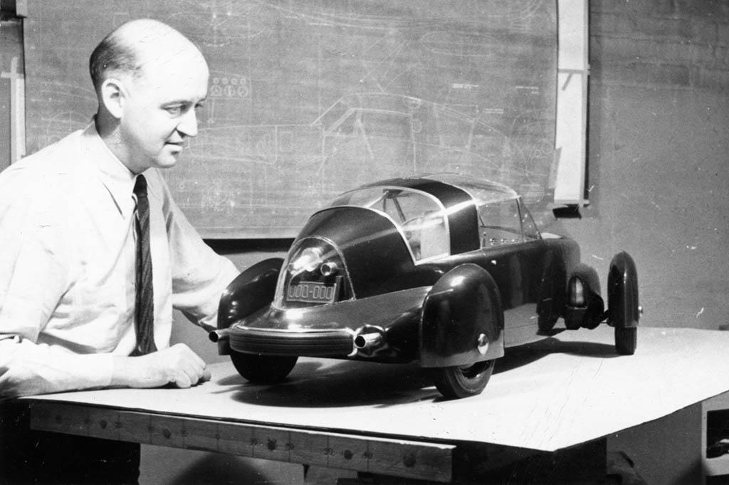 car concept Futuristic concept cars from 80 years ago