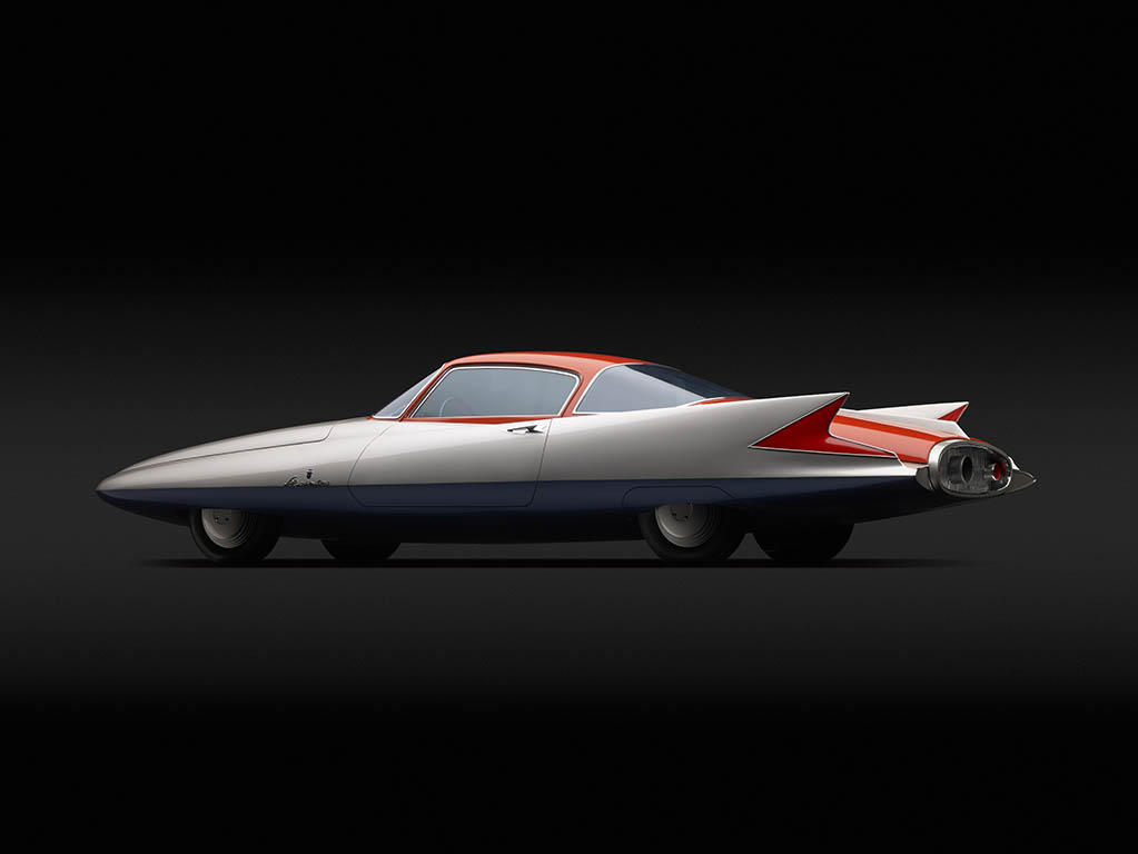 chrysler ghia streamline Futuristic concept cars from 80 years ago