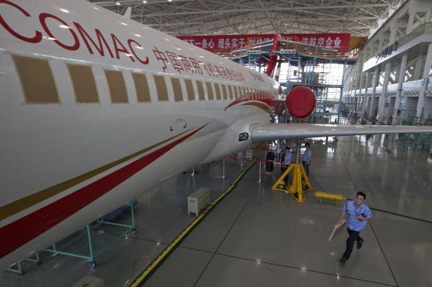 comac 3 Chinas new airplane