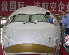China's new airplane