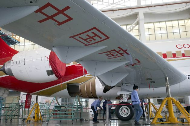comac wheel Chinas new airplane