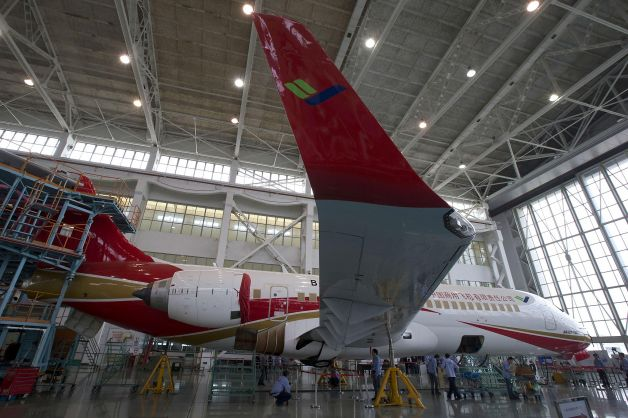 comac Chinas new airplane