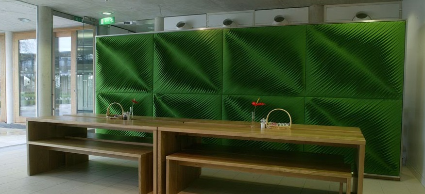 green 3d fabric 3D textiles