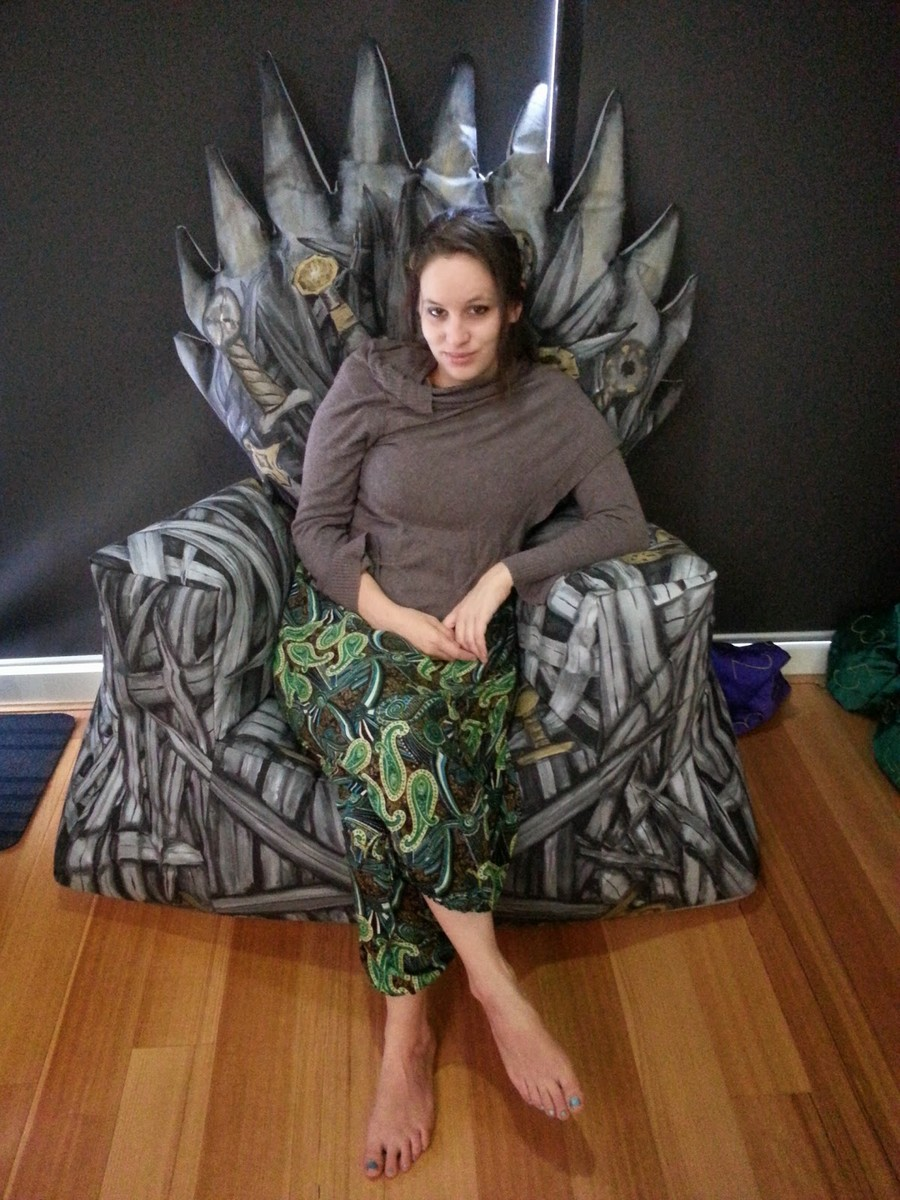 ideas Iron armchair Game of Thrones bean bag chair
