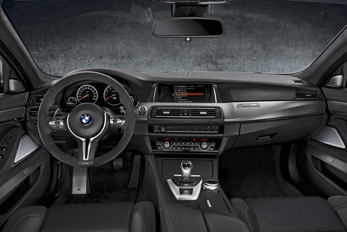 m5 dash 30 years of the BMW M5