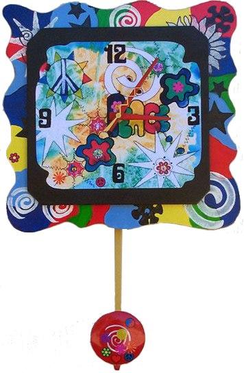 1960s wall clock