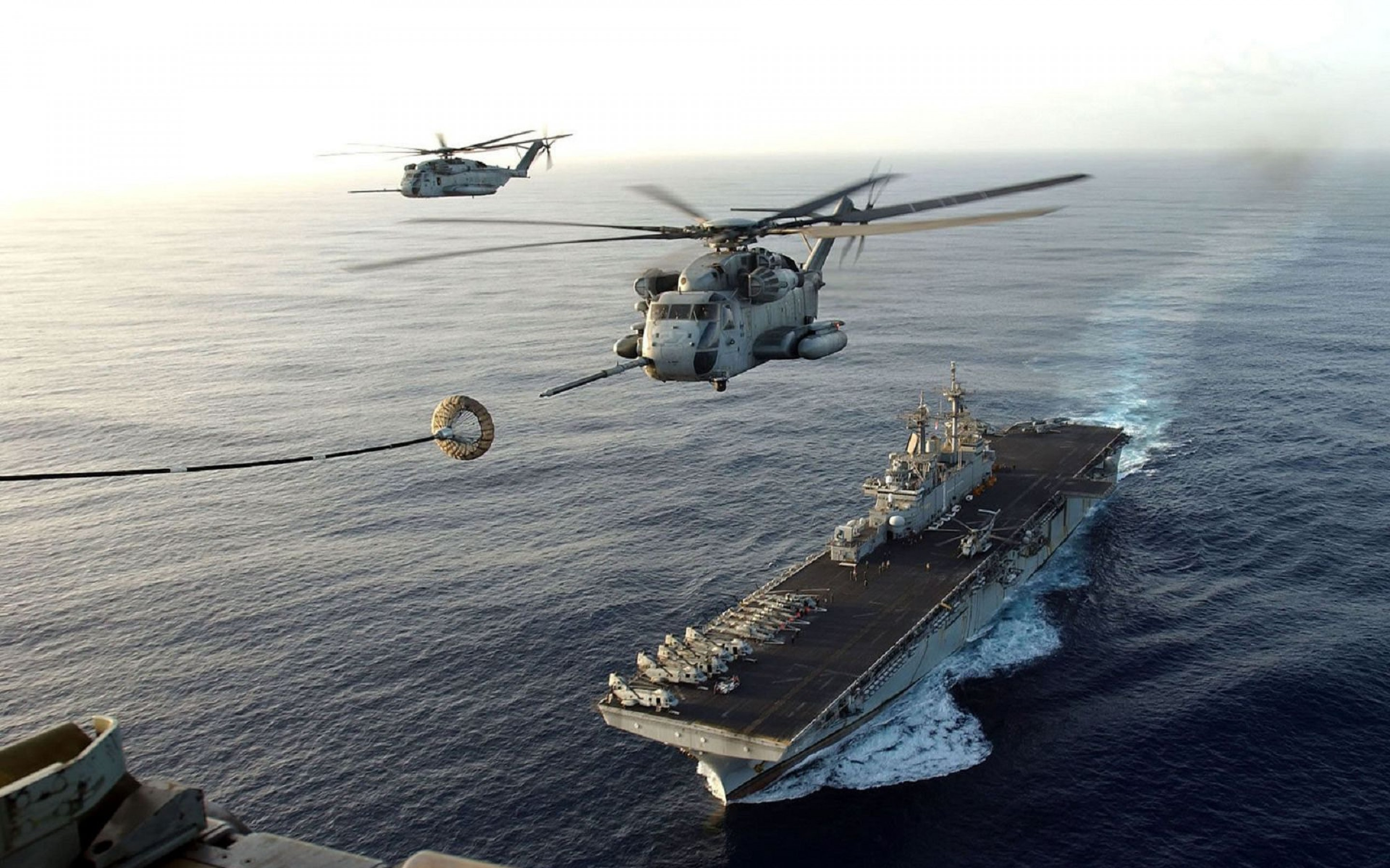Aircraft Carrier Helicopters Plane Helicopter wallpapers