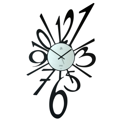Arti Mestieri Big Big Bang Black Cool clock designs