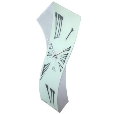 Arti Mestieri Primo Clock Silver Cool clock designs