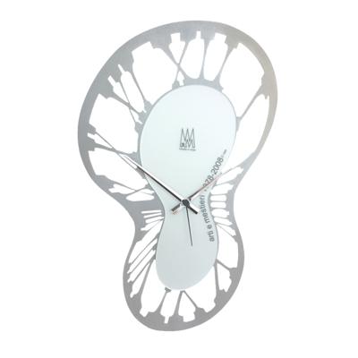 Arti Mestieri Silver Salvador Clock Cool clock designs
