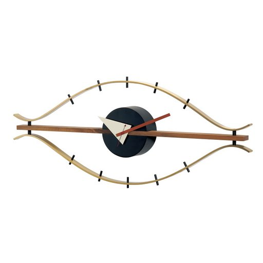 Brass Eye Clock Cool clock designs