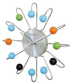 George Nelson Atomic Wall Clock Cool clock designs