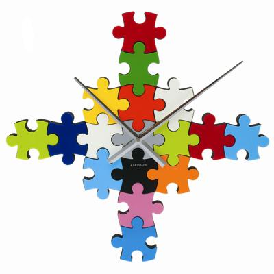 Karlsson Colour Puzzle Clock Cool clock designs