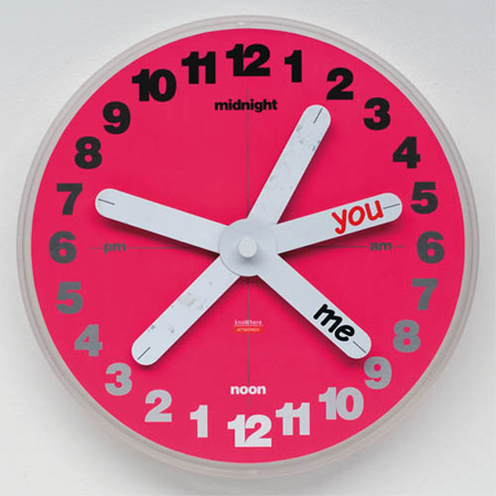 KnoWhere Clock Cool clock designs