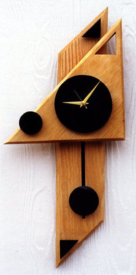 Modern Geometric Clock Cool clock designs