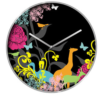 Multicoloured Fairytale Wall Clock Cool clock designs