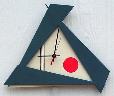 Oriental Modern Clock