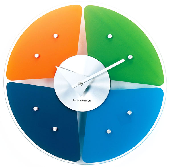 Petal Wall Clock Cool clock designs