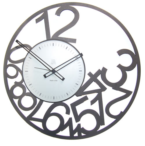 Scrambled Numbers Clock Cool clock designs