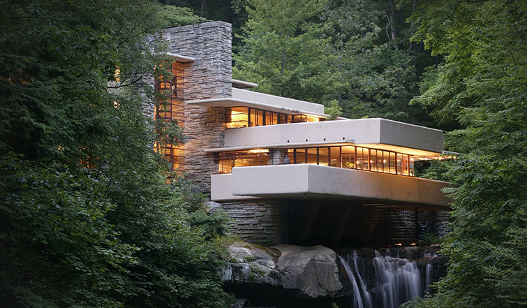 Screen Shot 2014 06 03 at 2.30.28 pm Fallingwater by Frank Lloyd Wright